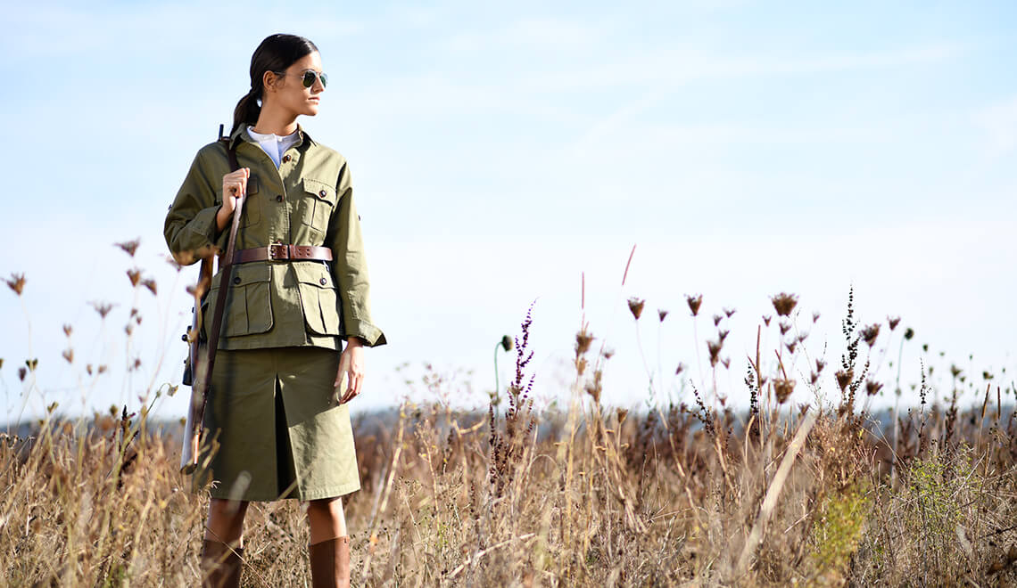 Safari Fieldjacket + Rock