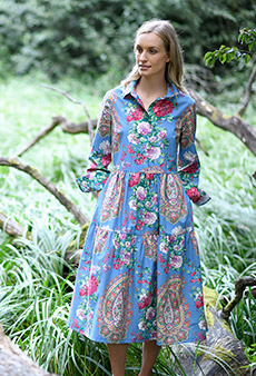 Dress paisleys and flowers