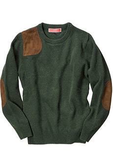 Shooting sweater, green