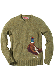 Sweater Lambswool, pheasant
