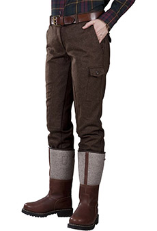 Field trousers loden, brown