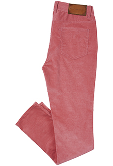 Corduroy trousers, pink