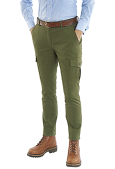 Cargo trousers, olive