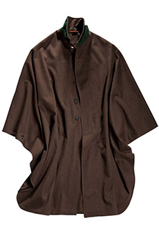 Field cape loden, brown