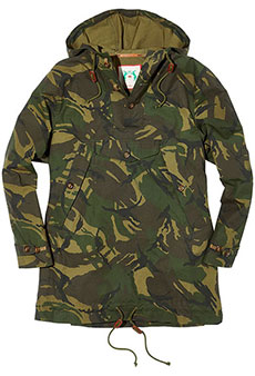 Field anorak, camouflage