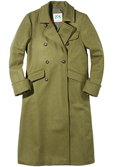 Fieldcoat wool, olive