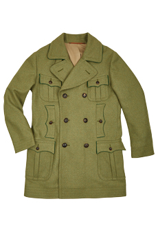 Coat Lovat, green