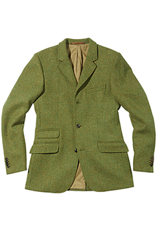 Jagdjacke Scottish Tweed
