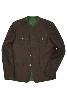 Jacket loden, brown