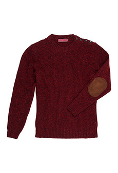 Pullover Donegal, rot