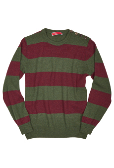 Sweater lambswool, Stripes