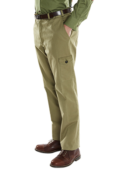 Safari trousers, twill