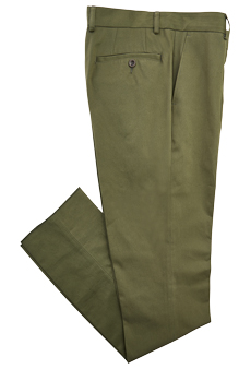Chino, forest green