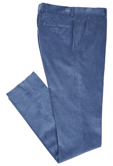 Trousers corduroy, blue