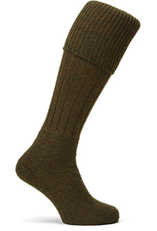 Gamekeeper socks, green