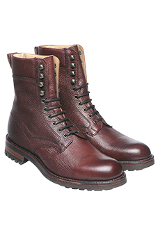 Country boots grain leather