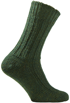 Field Socks short, green