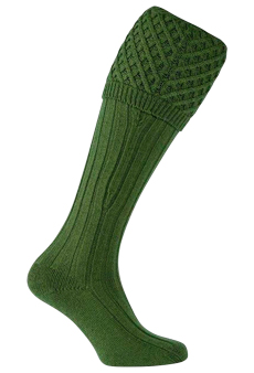 Gunsocks, nettel green