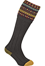 Gunsocks Jacquard, braun
