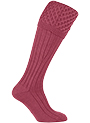 Gunsocks Zopfmuster, raspberry