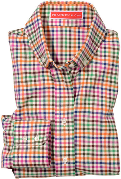 Bluse Flanell, Karo