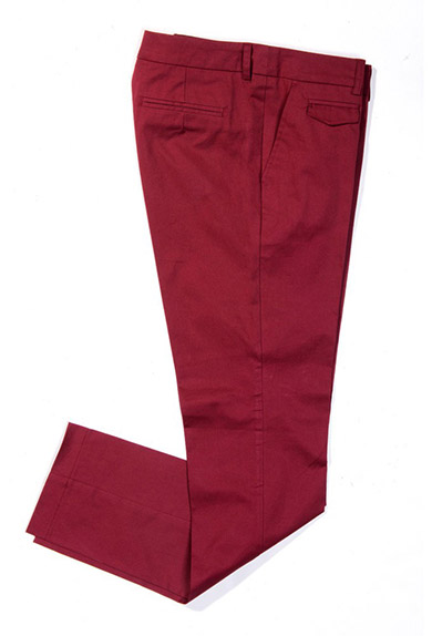 Chino Coinpocket, rot