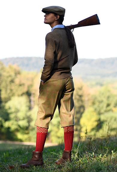 Plus Fours Lovat Tweed